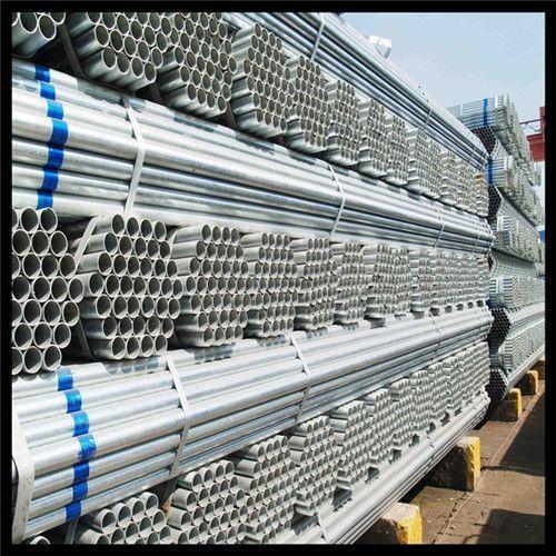 لوله فولادی گالوانیزه آهن تک لوله ساختمانی