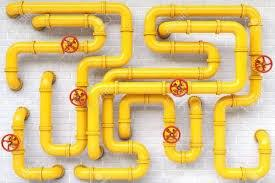 لوله فولادی -گاز آهن تک